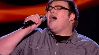 The Voice UK 2013 | Ash Morgan performs 'Never Tear Us Apart' - Blind Auditions 1 - BBC One
