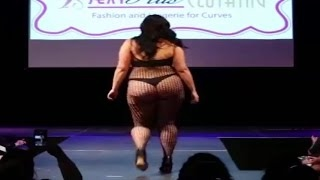 Fashion Week Plus Size 2017 ( THE CLOTHING) Fashion Week And Lingerie For Curvy -the newest fashion