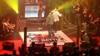 Grasshopper vs. Deda FINALE ( Official HD Video ) Red Bull MC Battle 2012
