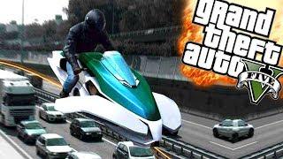 EEN VLIEGENDE MOTOR! | GTA 5 Funny Moments