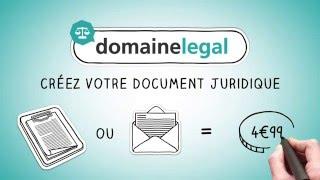Domaine Légal: votre avocat en ligne - présentation des services juridiques