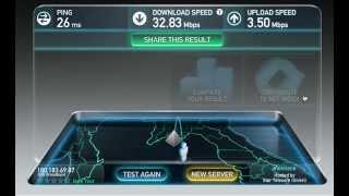 3bb FTTx SpeedTest 30M/3M