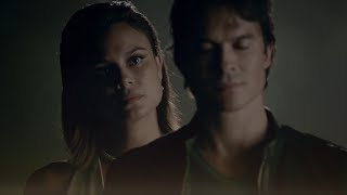 The Vampire Diaries: 8x02 - Sybil erases Elena in Damon's memories, Sarah Salvatore dies [HD]
