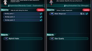 Final Fantasy Brave Exvius - Help Wanted & Job Hunting - Quest Walkthrough