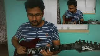 Korbo lorbo jitbore KKR theme song 2018 guitar cover