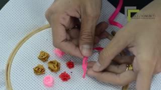video 6 : Sulaman Tangan (Sulaman Riben)