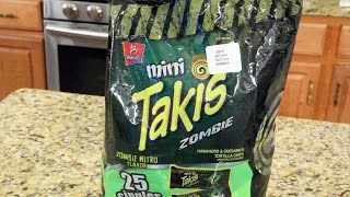 Takis Zombies - FOOD REVIEW
