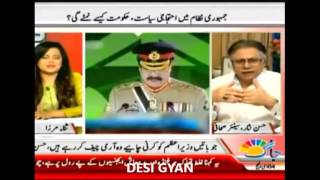 Its better to become a Chinese colony than begging daily : Hassan Nisar