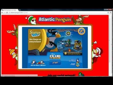 Servidor privado en club penguin Atlantic penguin