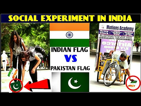 Xxx Mp4 INDIAN FLAG VS PAKISTAN FLAG Social Experiment In India By 3 Jokers 3gp Sex