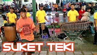 SUKET TEKI 2 - Angklung Malioboro (Pengamen Jogja) Edisi Malam Minggu DIDI KEMPOT