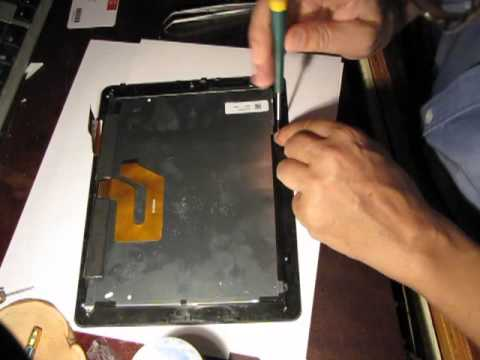 Замена тачскрина на планшете своими руками