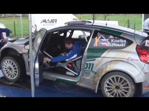 Tomáš Kostka Ford Fiesta WRC Rally Lužické Hory 2013