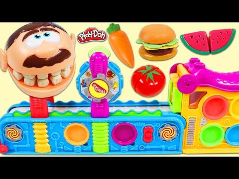 Xxx Mp4 Feeding Mr Play Doh Head Toy Velcro Food Made From Magic Mega Fun Factory 3gp Sex