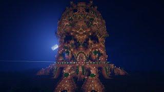 Minecraft Timelapse - VERY BIG TOWER