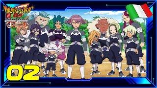 Inazuma Eleven GO: Chrono Stones Fiamma   #02   La Protocollo Omega   Gameplay Ita