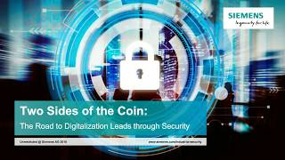 The Road to Digitalization Leads through Cyber Security
