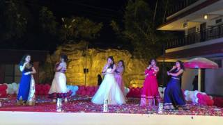Dance performance on Drama queen and girls like to swing | Sangeet | bollywood mashup