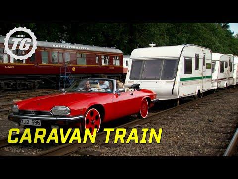Caravan Train Part 1 Top Gear BBC