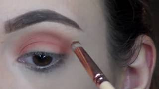 🍁 FALL inspired makeup tutorial 🍂 - EASY soft cut crease!