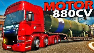 CAMINHÃO SCANIA 8X4 Tunada - Euro Truck Simulador 2