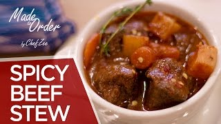 Spicy Beef Stew   Carne Guisada Picante   Made to Order   Chef Zee Cooks