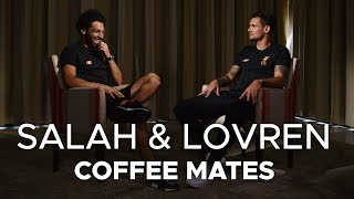 Salah & Lovren: Coffee Mates  