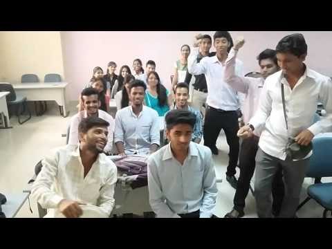 Driving bus in classroom .. Video from OIM students ( MMS 1 )navi mumbai