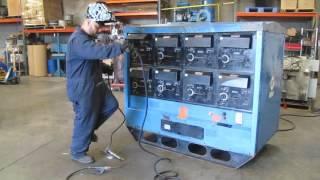 Miller Mark VIII-2 Multiple Operator Welder 460V 3 Phase 8 Station