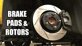 How To Replace Brake Pads And Rotors (Front & Rear)