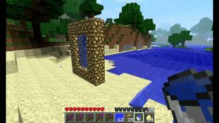 Minecraft How to Make An Aether Portal