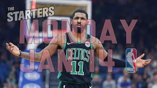 NBA Daily Show: Jan. 14 - The Starters