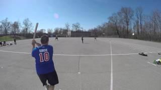 Major League Stickball 2016-04-17 Queens Mavericks s at Pelham Village Game 1