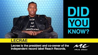 Lecrae: Did You Know?