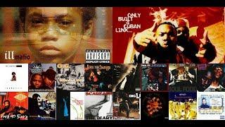 Top 20 Hip-Hop Albums Of The 1990's Part 3 : 1994-1995