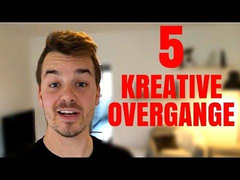 2minT - 5 kreative overgange der gør dine videoer MEGET federe | Afsnit 8