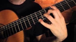 Cours de Guitare : Exercices d'étirements - main du manche