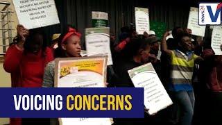 WATCH: Protestors disrupt Mining Charter meeting in Mpumalanga