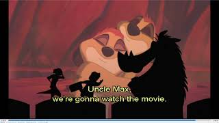 Timon & Pumbaa rewind The Lion King 1½