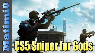 BF4: CS5 Sniper Rifle - Weapon For The Gods - Battlefield 4