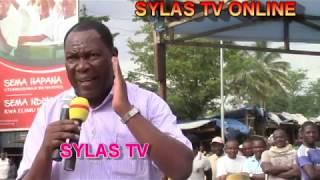 aggrey Mwanrii sitaki mwanamke afunge kanga tumboni