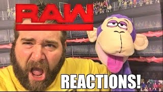 WWE RAW REACTIONS: BROCK LESNAR RETURNS! Full Show Results and Review 10/24/16