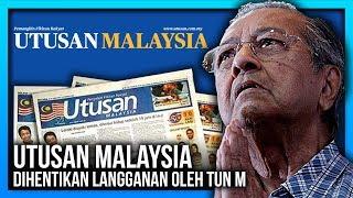 KEMENTERIAN PENDIDIKAN HENTI LANGGAN UTUSAN MALAYSIA