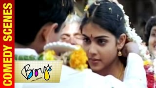 Boys - Tamil Movie | Siddarth and Genelia get married | Vivek | Shankar | A R Rahman