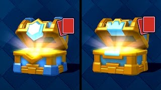 Let's Play Clash Royale #78: DOUBLE CHEST OPENING! Big Upgrade