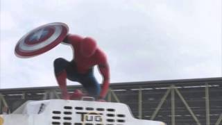 Spiderman - It is wednesday my dudes in Marvel's Captain America: Civil War - Trailer 2