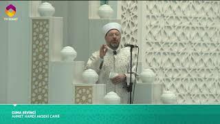 Cuma Hutbesi 19 Ocak 2018  - Prof. Dr. Ali Erbaş