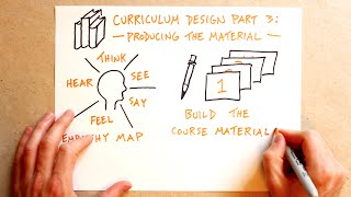 Curriculum Design Part 3: Producing The Material