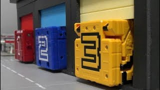 파워레인저 애니멀포스 큐브 본부출동 장난감 놀이  Power Rangers Doubutsu Sentai Zyuohger Cube Center Toys