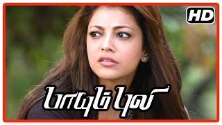 Paayum Puli Tamil Movie | Scenes | Vishal saves Kajal from goons | Kajal reveals Kiran loves her